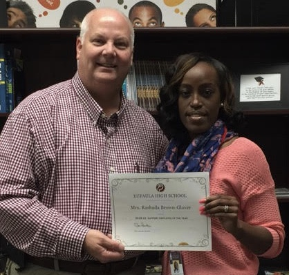 EHS Support Employee of the Year-Rashada Brown-Glover